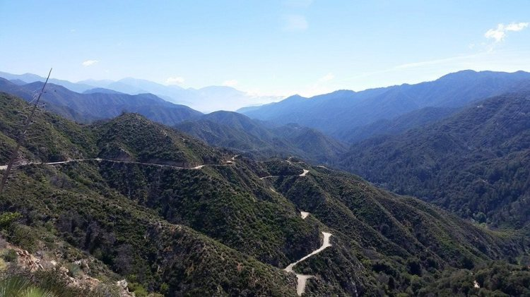 View looking west from the Edison Road, on the way down from Shortcut Saddle. Photo by Marcus C. England.