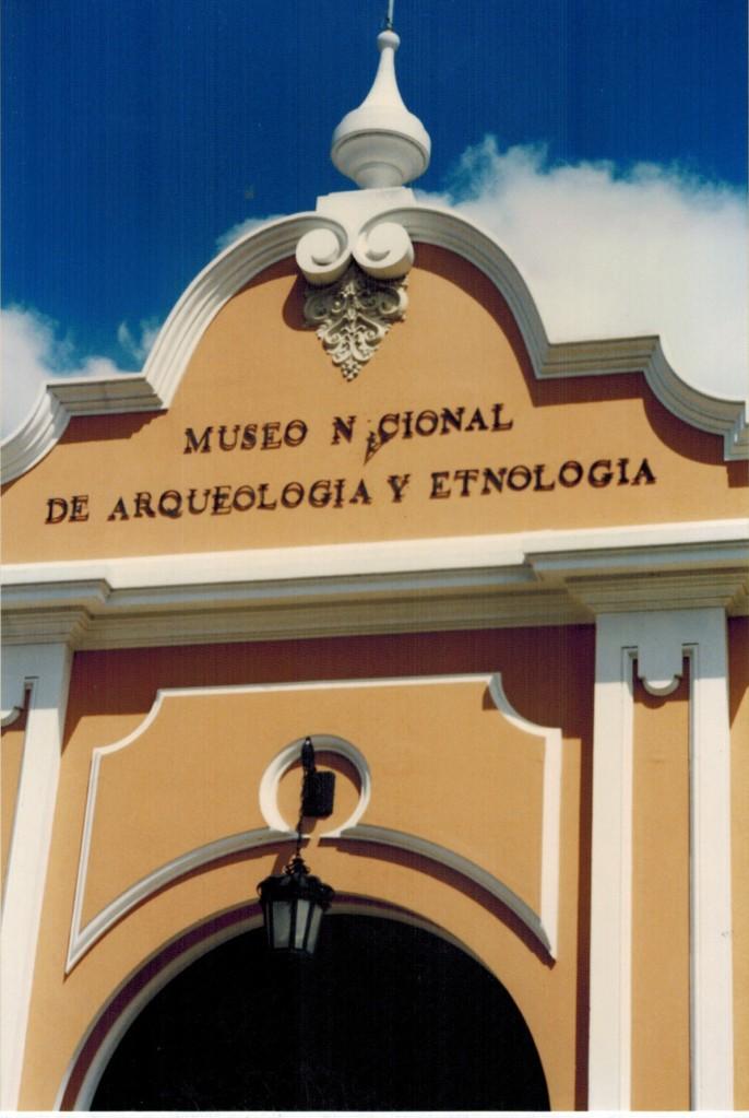 Museo Nacional de Arqueologia Y Etnologia in Guatemala City. Photo by Marcus C. England.